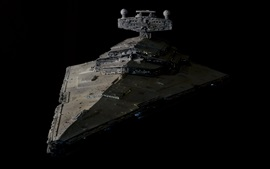Preview wallpaper Star Wars, battlecruiser, art design