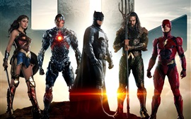 Preview wallpaper Superheroes, Justice League