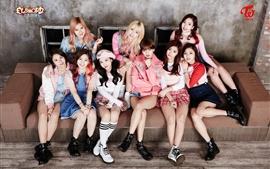 Aperçu fond d'écran Deux fois, les filles de musique coréenne 02