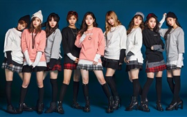Preview wallpaper TWICE, Korean music girls 04
