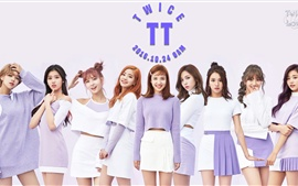 Preview wallpaper TWICE, Korean music girls 05