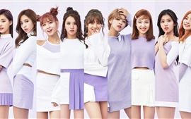 Preview wallpaper TWICE, Korean music girls 07
