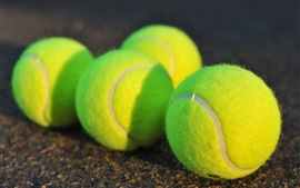 Preview wallpaper Tennis close-up
