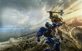 Preview wallpaper Transformers: The Last Knight, 2017 hot movie