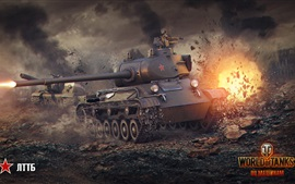 World of Tanks, feu, guerre