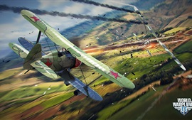 Preview wallpaper World of Warplanes, PC games