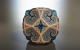 Fractal 3D, design criativo