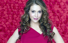 Preview wallpaper Alyssa Milano 05