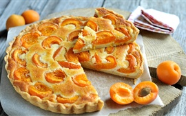 Preview wallpaper Apricot pie, delicious food