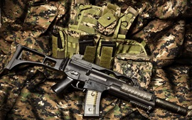 Preview wallpaper Automatic rifle, weapons