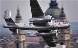 Preview wallpaper B-25 bomber, Budapest