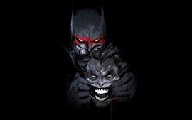 Imagem de arte de Batman, Joker, DC Comics