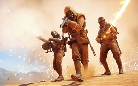 Preview wallpaper Battlefield 1, soldiers, fight
