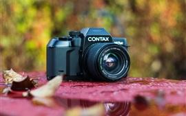 미리보기 배경 화면 Contax 167MT 35mm SLR 필름 카메라