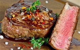 Carne cozida, ingredientes, comida