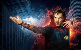 Preview wallpaper Doctor Strange, Benedict Cumberbatch, magical movie