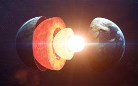 Estrutura do núcleo da Terra