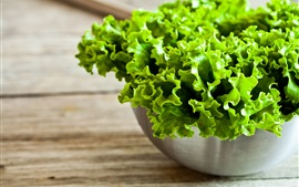 Preview wallpaper Fresh green lettuce