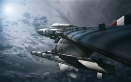 Preview wallpaper Gloster Javelin FAW.9R Military Airplane, Night Hunter