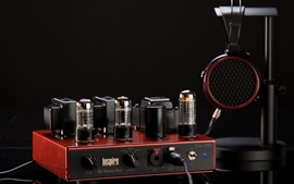 Preview wallpaper Headphone amplifier, tube