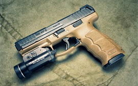 Preview wallpaper Heckler Koch VP9 self-loading pistol