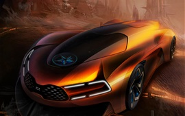 Preview wallpaper KIA concept car