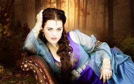 Preview wallpaper Katie McGrath, Merlin, TV series