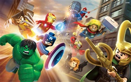 Lego movie, Marvel superheroes