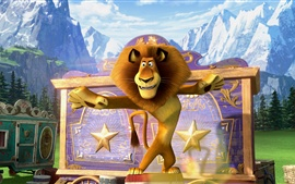 Madagascar 3, película de dibujos animados
