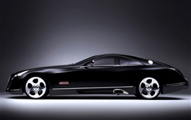 Preview wallpaper Maybach black luxury car