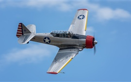 Vuelo de avión de América del Norte AT-6 Texan