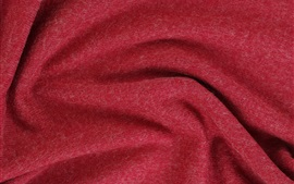 Preview wallpaper Red fabric texture