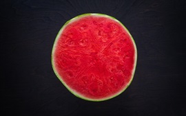 Preview wallpaper Ripe watermelon cut surface