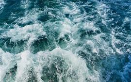 Preview wallpaper Sea, waves, water splash