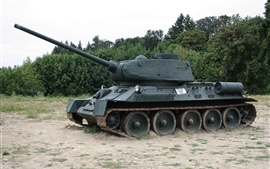 預覽桌布 蘇聯T-34-85坦克