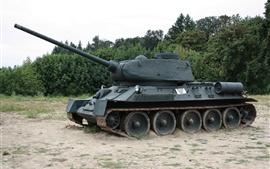 Preview wallpaper Soviet T-34-85 tank