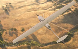 Stalker XE Unmanned Aerial avion flight