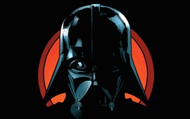 Preview wallpaper Star Wars, Darth Vader, art picture