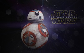 Preview wallpaper Star Wars, classic movie, BB8 robot