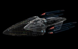 Preview wallpaper Starship Enterprise, Star Trek