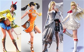 Preview wallpaper Tekken 7, beautiful girls show