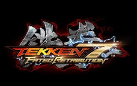 Preview wallpaper Tekken 7, game logo