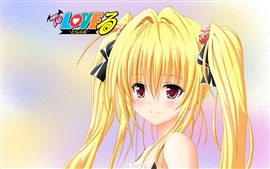 Preview wallpaper ToLOVE-Ru, blonde anime girl