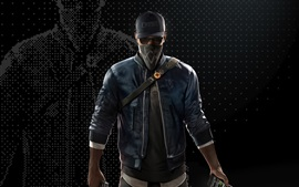 Preview wallpaper Ubisoft, Watch Dogs 2, mask