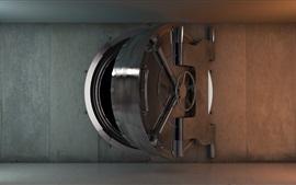 Aperçu fond d'écran Porte de coffre-fort