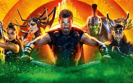 Preview wallpaper 2017 movie, Thor: Ragnarok