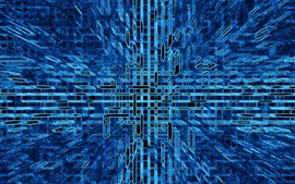 Preview wallpaper Abstract struct, blue