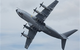 Preview wallpaper Airbus A400M four-engine military turboprop