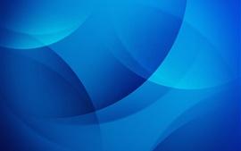 預覽桌布 藍色圓圈,抽象