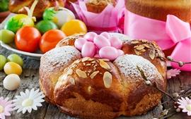 미리보기 배경 화면 빵, 계란, 부활절